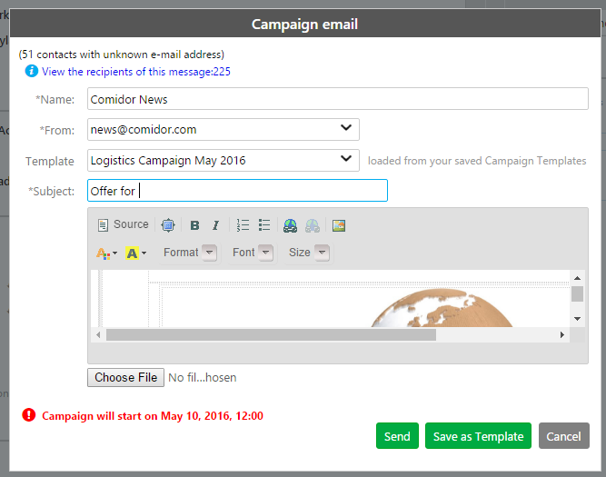 Email Campaign Template