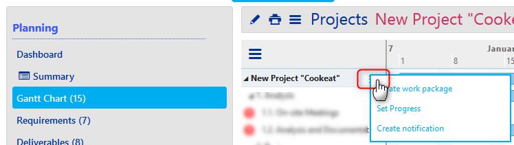 Projects - Gantt 2