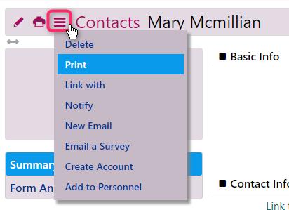 comidor contacts