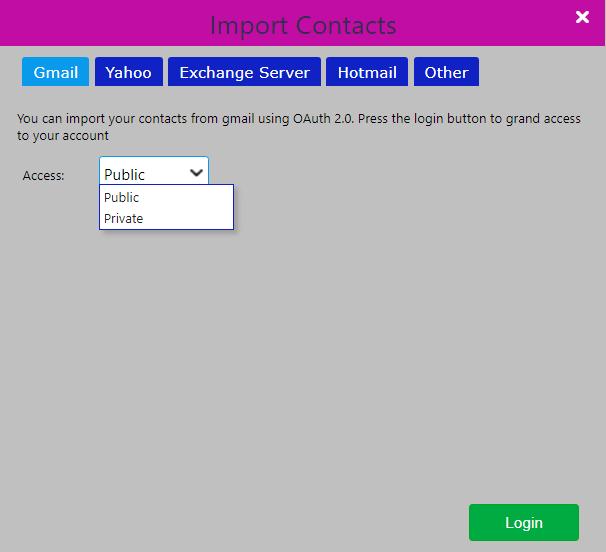 contacts/comidor low-code bpm platform