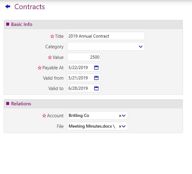contracts/comidor low-code bpm platform