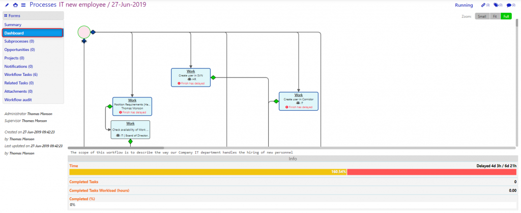 processes/Comidor low-code bpm platform