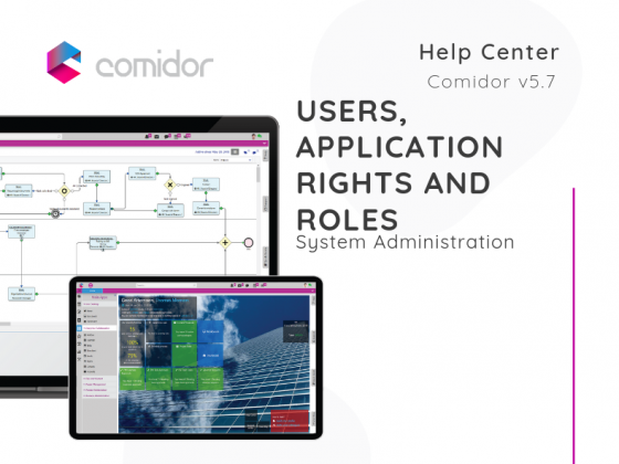 Users, Application Rights and Roles | Comidor Low-Code BPM Platform