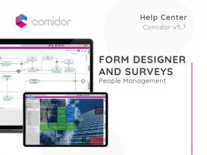 Form Designer and Surveys | Comidor Low-Code BPM Platform