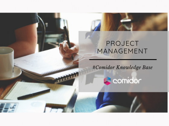 Project Management | Comidor low-Code BPM Platform