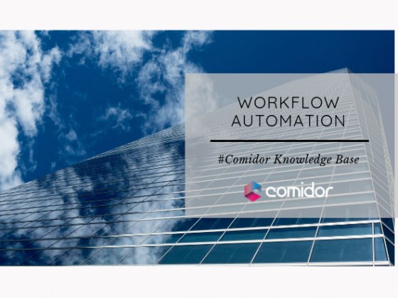 Workflow Automation | Comidor low-Code BPM Platform