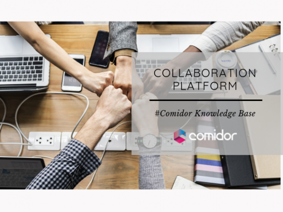 Collaboration Platform | Comidor low-Code BPM Platform
