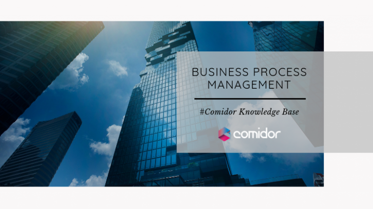 Business Process Management Definitions | Comidor Low-Code BPM Platform 2