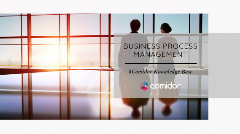 Business Process Management Definitions | Comidor Low-Code BPM Platform