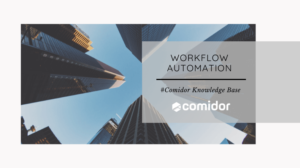 Workflow Automation KB | Comidor Low-Code Platform