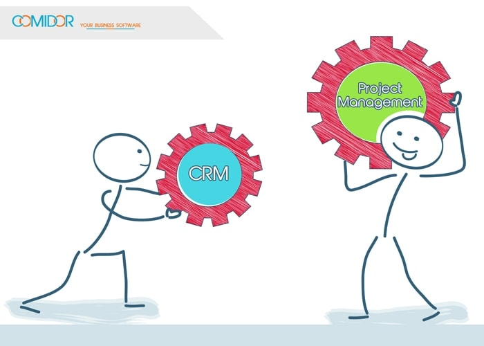 Crm and project management together