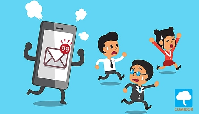 e-mail management   Comidor Low-Code BPM Platform