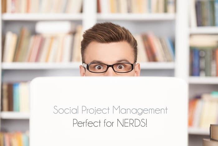 Social media and project management tools