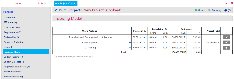Invoicing Plan -3