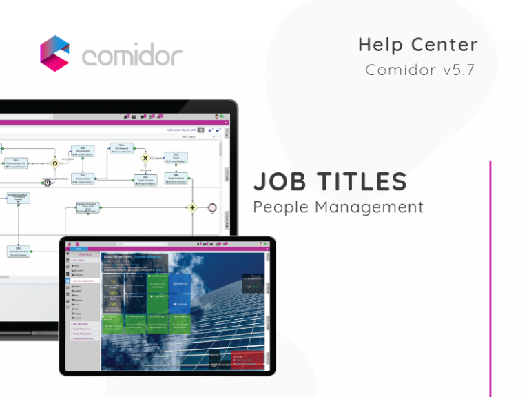 Job Titles | Comidor Low-Code BPM Platform