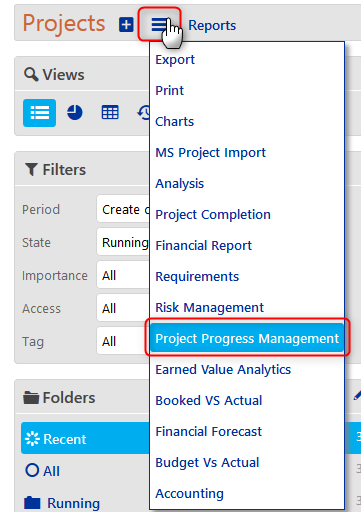Project Performance - Project Progress 7