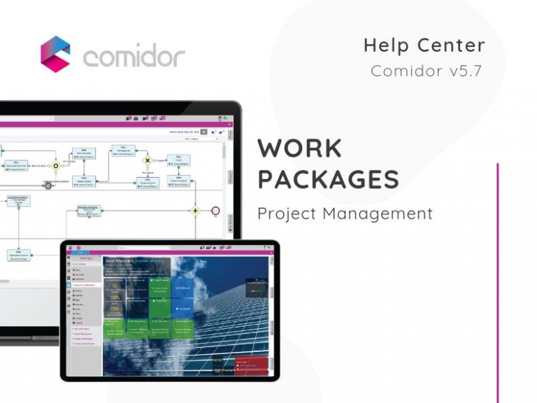 Work Packages | Project Management | Comidor Low-Code BPM