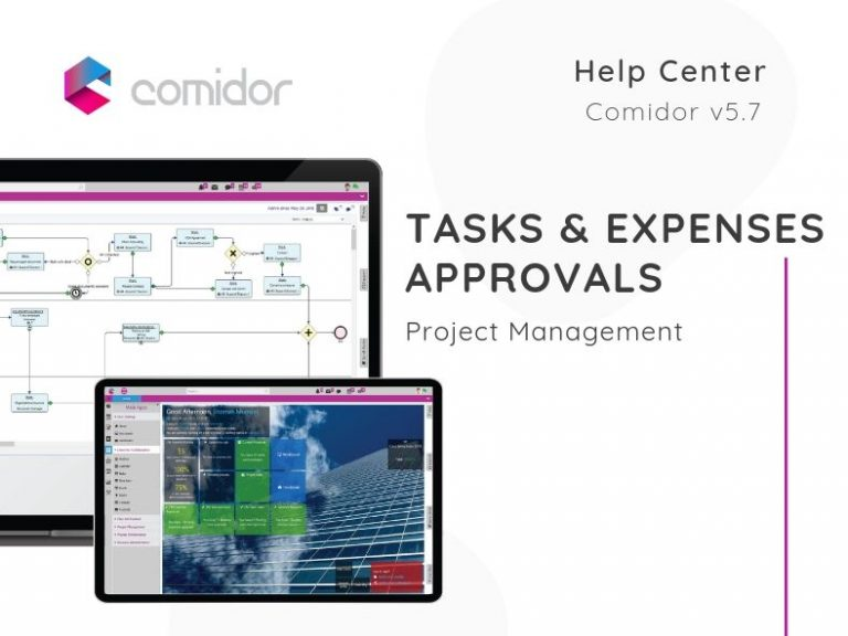 Tasks & Expenses Approvals   Project Management   Comidor Low-Code BPM