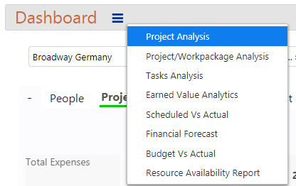 Projects Reports and Analytics (Resource Availability Report) - analysis 01