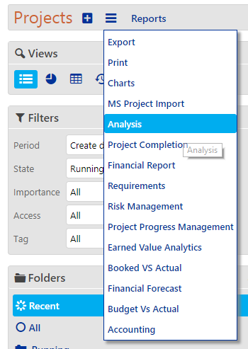 Projects Reports and Analytics (Resource Availability Report) - analysis 02