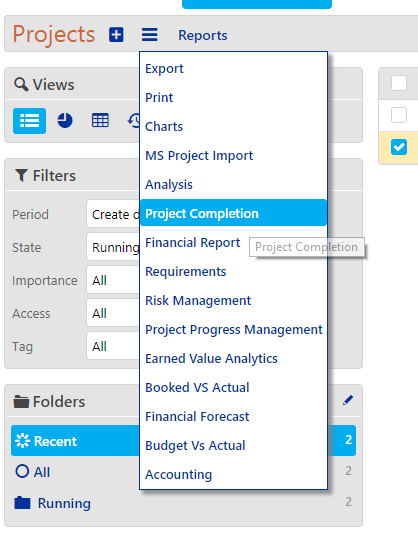 Projects Reports and Analytics (Resource Availability Report) - completion 2