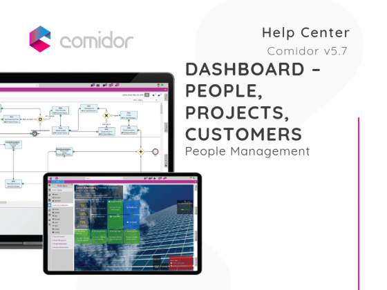 Dashboard | Comidor Low-Code BPM Platform