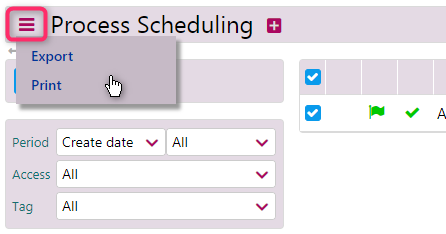 process scheduling | business processes | comidor