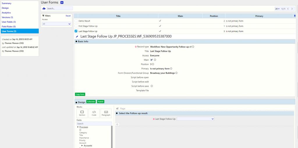 Workflow examples | Comidor Digital Automation Platform