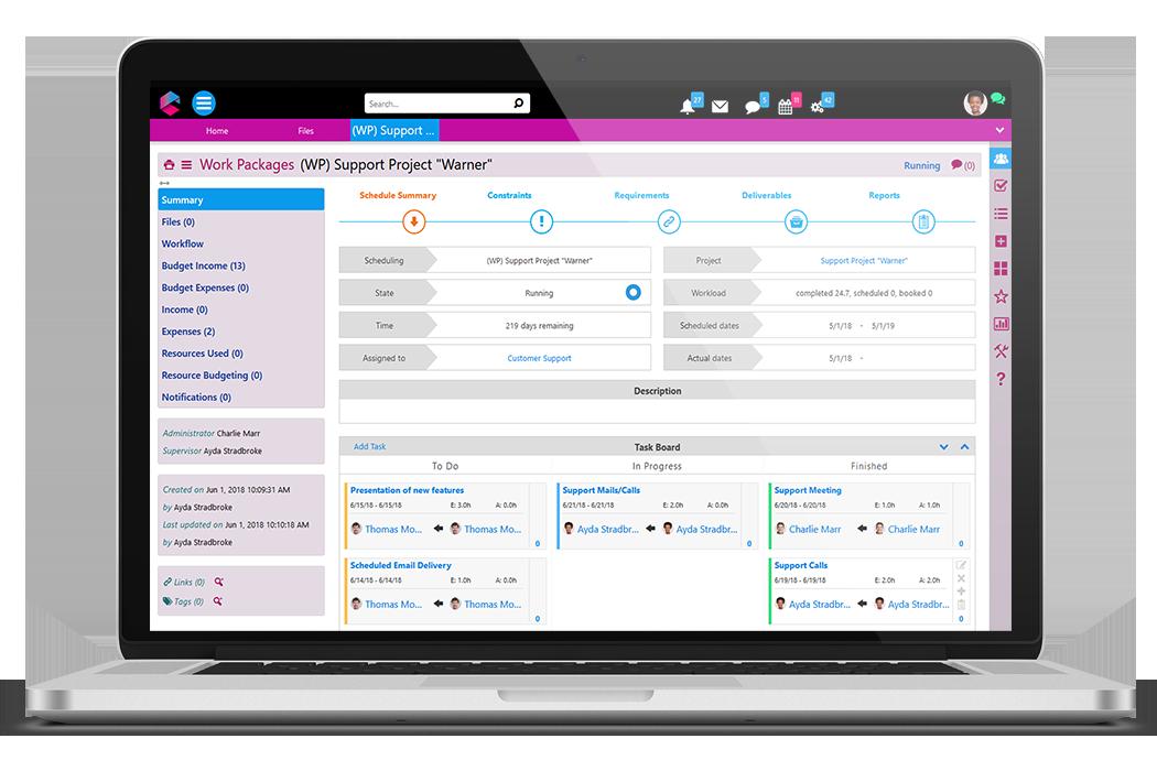 KanBan Board | Business Project Management | BPM Platform | Comidor