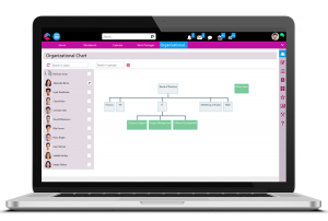Organizational Chart | Enterprise Collaboration Software | BPM Platform | Comidor