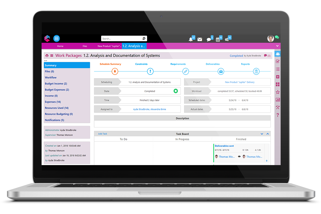 Project Management life cycle | Business Project Management | BPM Platform | Comidor