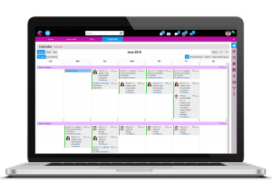 Schedule Calendar | Enterprise Collaboration Software | BPM Platform | Comidor