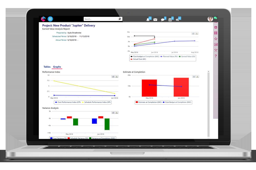 Project Management Analytics | Business Project Management | BPM Platform | Comidor
