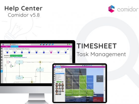 Timesheet | Comidor Digital Automation Platform