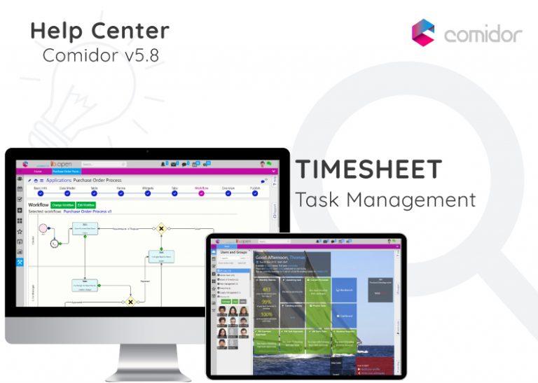Timesheet   Comidor Digital Automation Platform