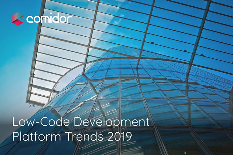 Low-code Development Platform Trends 2019 | Low-Code | Comidor BPM
