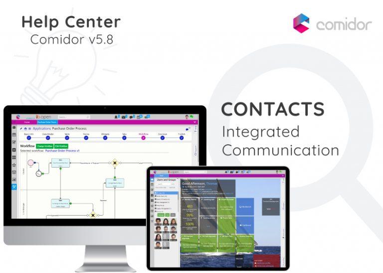 Contacts | Comidor Digital Automation Platform