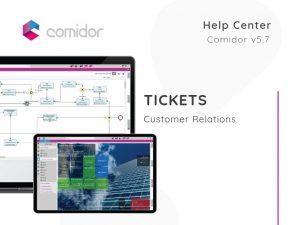 Tickets | Customer Relations | Comidor Low-Code BPM