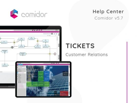 Tickets | Customer Relations | Comidor Low-Code BPM