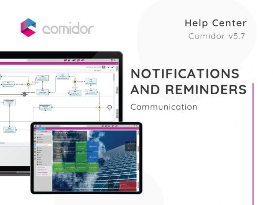 Notifications and Reminders | Communication | Comidor Low-Code BPM