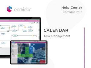 Calendar | Task Management | Comidor Low-Code BPM