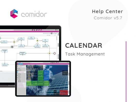 Calendar | Task Management | Comidor Low-Code BPM