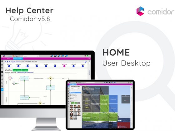 Home | User Desktop | Comidor Digital Automation Platform