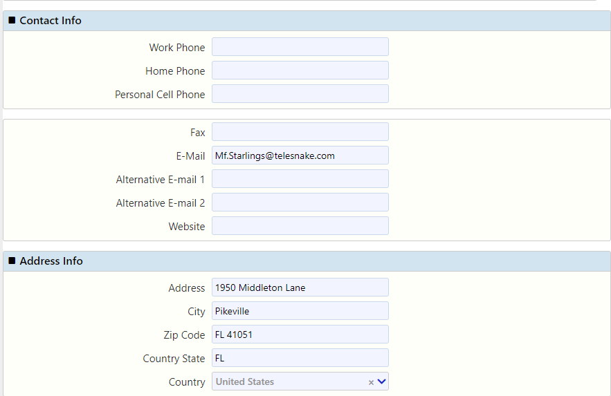contact info / Comidor Digital Automation Platform