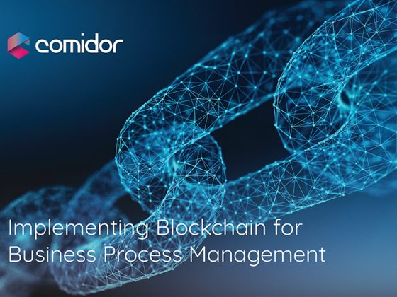 Blockchain for Business Process Management | Comidor Low-Code BPM Platform
