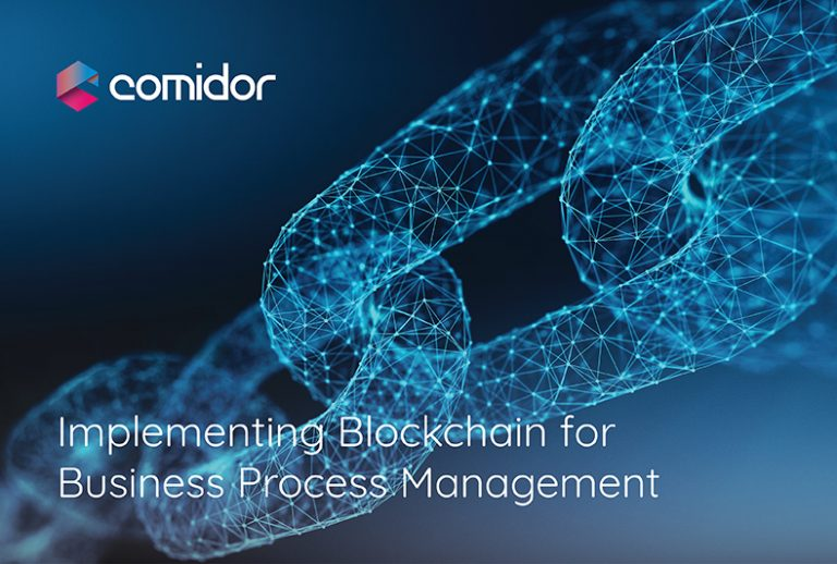 Blockchain-Smart Contracts for Business Process Management | Comidor Low-Code BPM Platform
