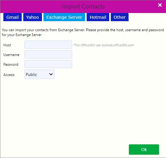 import contacts / Comidor Digital Automation Platform