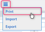 print contact | Comidor Platform