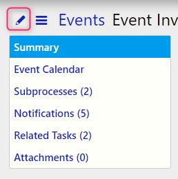 edit an event / Comidor Digital Automation Platform