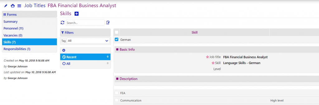 job titles/comidor low-code bpm platform